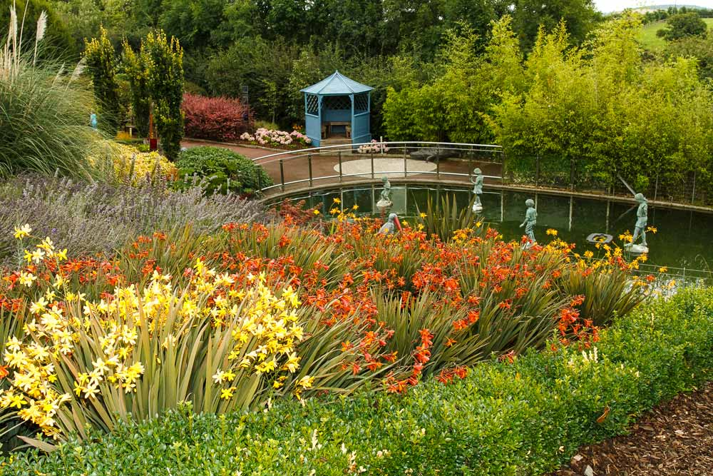 Arboretum inspirational gardens for Garden designs ie