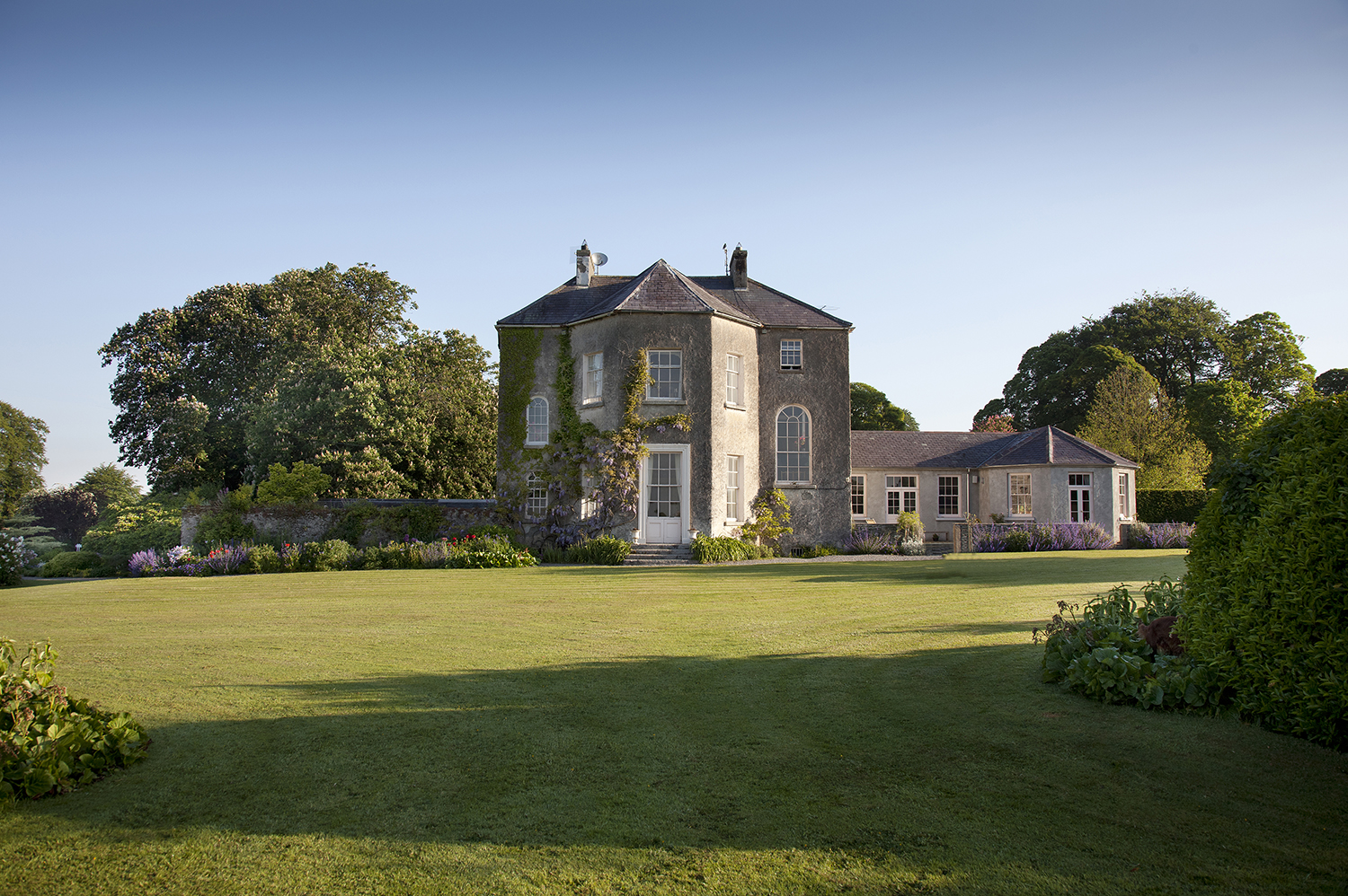 Burtown House garden front use for Guide to Carlow