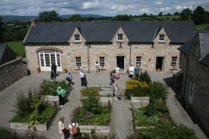 Kilgraney herb garden with people
